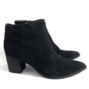 Dolce Vita Lennon Suede Pointed Toe Boots